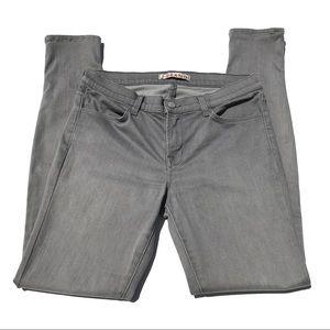 J Brand Gray Super Skinny Gotham Jeans Sz 29